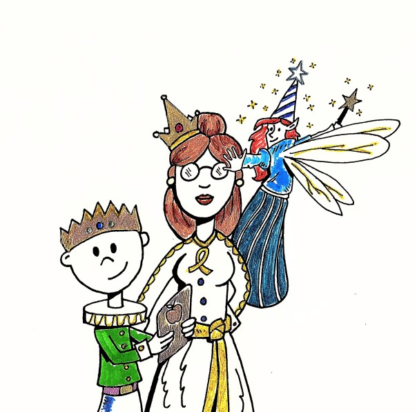 Puzzle Prince and Blue Fairy