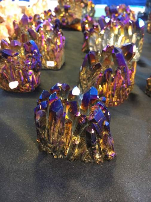 Rainbow Pyrite
