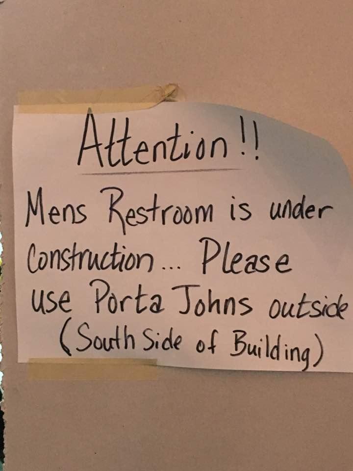 Port-a-John Option
