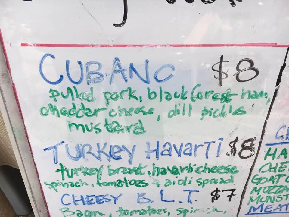 Crepe - Cubano Ingredients