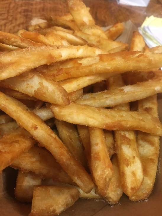 Beer-Battered French Fries