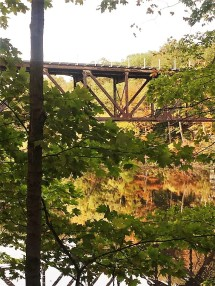 Ledges - Train Trestle Reflections