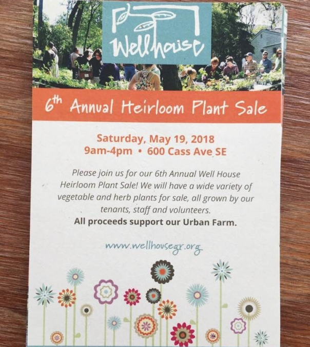 Annual Heirloom Plant Sale