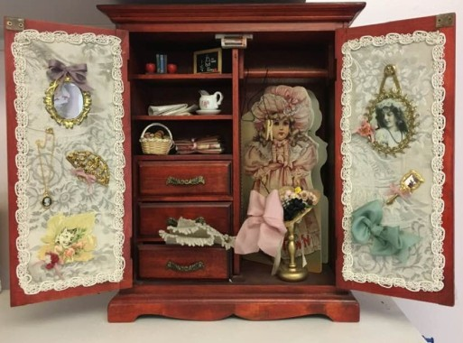 Doll Cupboard